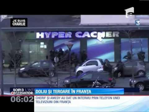 Vânătoarea de terorişti continuă în Franţa