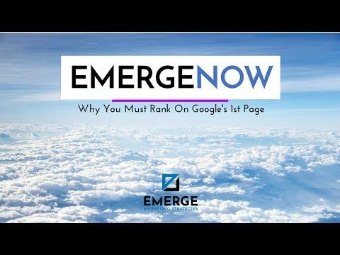 Importance of Ranking #1 on Google - EmergeNow