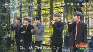 SHINee 20161214 FNS 「 Wonderful Christmas  time」