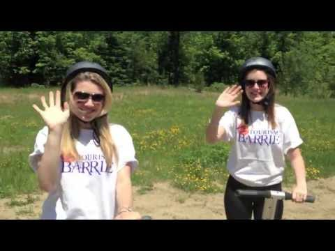 Tourism Barrie's Adventure Team Visits Segway Tours
