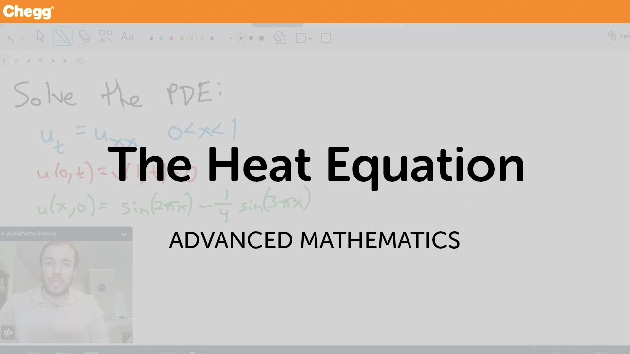 The Heat Equation | Math | Chegg Tutors