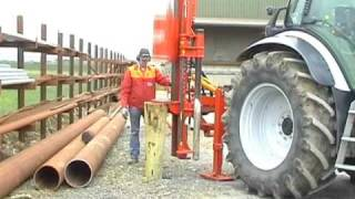 Huge Post Rock Spike Vector Powerdrive Fencing Postdriver Post Driver Knocker Pile Pounder
