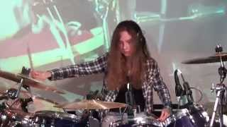 Tom Sawyer (Rush); Drum Cover by Sina (15 y.o.)