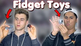 Reacting To Fidget Toys!