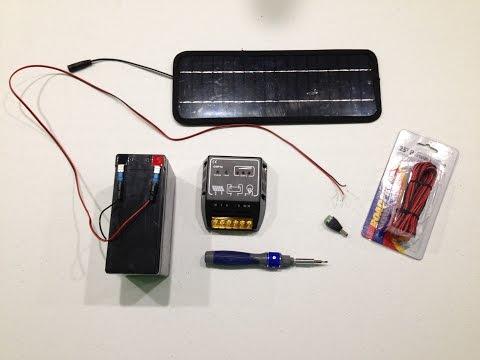 DIY Off-The-Grid Solar Energy Solution Tutorial