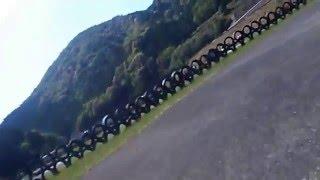バイク  エイプ100 練習走行 きのくにカートランド