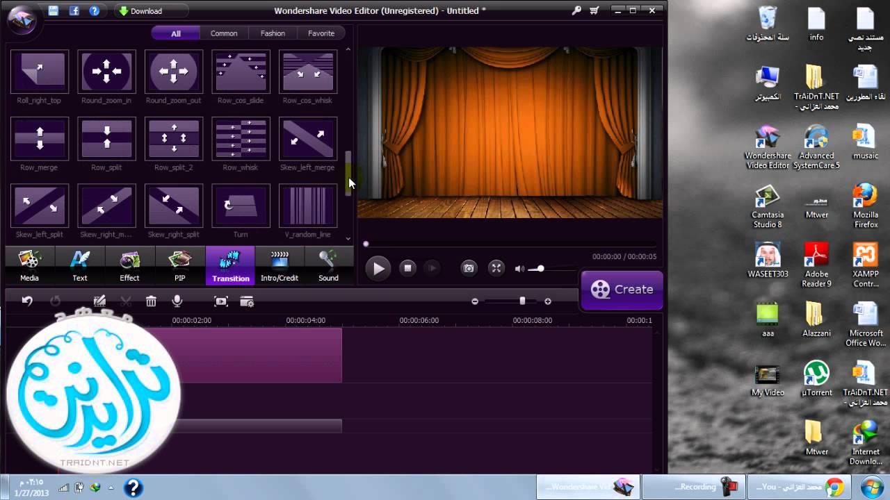 تحميل wondershare video editor