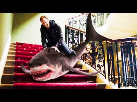 Sharknado 5: Global Swarming Trailer 2017 Movie - Official streaming vf