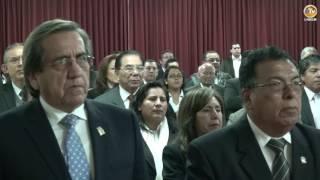 Tema: Ceremonia de Asunción al Cargo de Decano de la Facultad Ciencias Contables