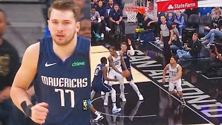 Luka Doncic Turns Into Zion Williamson Using Bully Move & Drops 38 Points! Mavericks vs Spurs