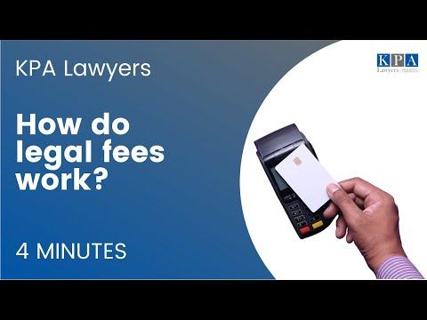 How Do Legal Fees Work?