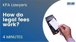 How Do Legal Fees Work?