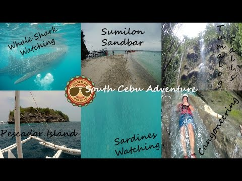 South Cebu Adventure | Oslob + Moalboal + Badian