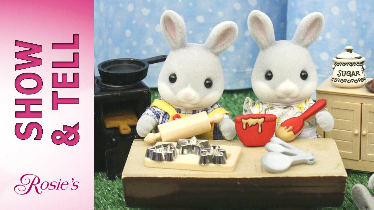 Uncategorized Bunny Kitchen Appliances calico critters bunny family kitchen youtube kitchen