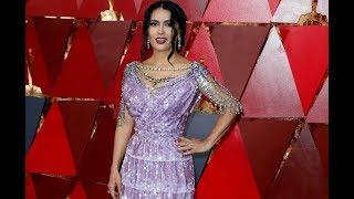 """Matilda indignada con el look de Salma Hayek en los Oscar: """"Se puso un vestido de porquería"""
