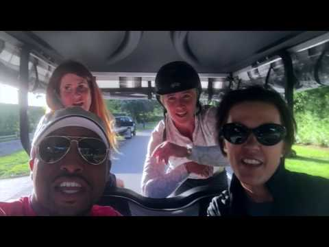 Golf Cart Karaoke  WEF 1