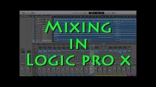 Logic Pro X Mixing Tutorial 2 (daisy daisy punk song 12 tracks)