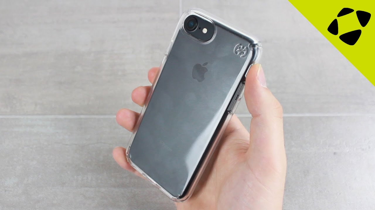 superior quality b87ff c55c0 Speck Presidio iPhone 7 Clear Case Review - Hands On