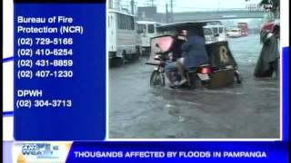 10 Pampanga towns flooded