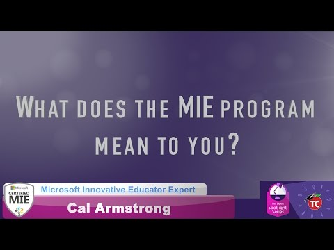 Cal Armsstrong: What makes the MIE program so special?