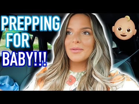 OFFICIALLY PREPARING FOR BABY BOY!! 36 WEEK UPDATE!  | Casey Holmes Vlogs