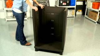 Keter's Rattan-Style Base Cabinet - Assembly Video
