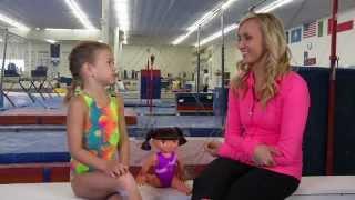 Nastia Liukin and Fantastic Gymnastics Dora