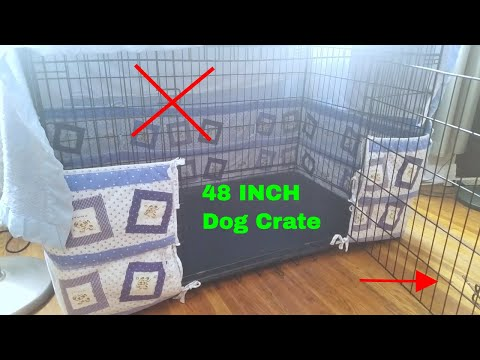 ✅  How To Use Paws and Pals 48 Inch Dog Crate Kennel Review