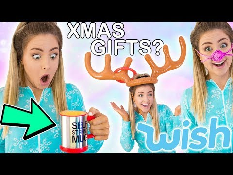 I Tried Christmas Gifts From Wish | Testing Wish Products Success Or Fail ?