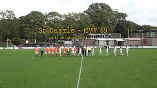 Sp.Daarle 1- MVV'69 1     Uitslag 3-1