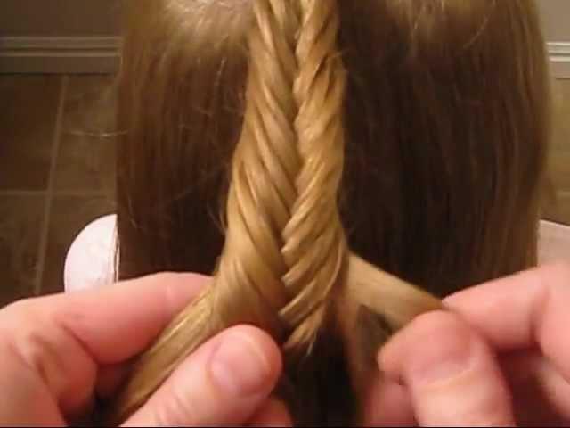How To Do A Fishbone Braid How To Fishtail Braid Babesinhairland Com Youtube