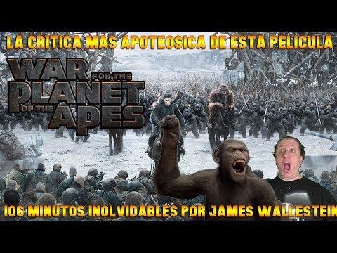 La guerra del planeta de los simios - War of the planet of the apes (2017)