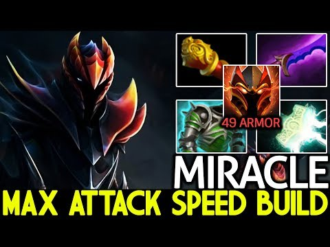 Miracle- [Dragon Knight] 49 Armor Max Attack Speed Imba Raid Boss 7.21 Dota 2 thumbnail