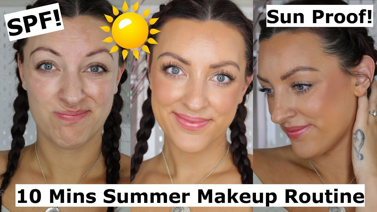 Quick and Easy Summer Makeup for Hot Weather