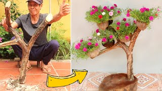 Breathed New Life into Dry Tree Branch, Best Garden Ideas | TEO Garden