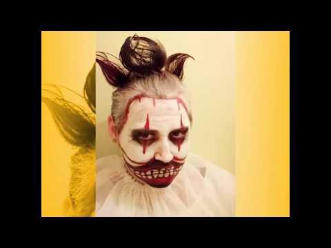 Грим клоуна Твисти с нуля