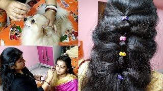 Bengali Vlog # ননদের বিয়েবাড়ির সাজ  | দেখতো কেমন লাগছে  | Indian wedding Guest Makeup look