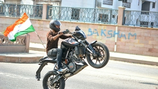 Ktm duke stunts