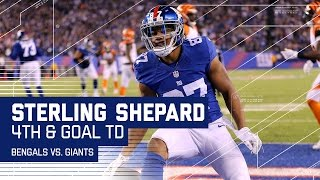 Odell Beckham Jr.'s Juggling Catch Leads to Sterling Shepard's TD! | Bengals vs. Giants | NFL