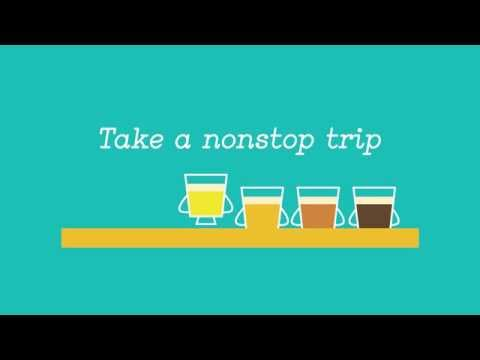 Campaign: TAKE A TRIP (Beer Flight) | Mellow Mushroom
