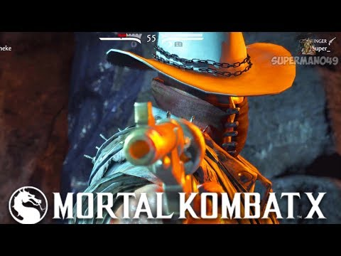 "THE BEST CHARACTER IN MORTAL KOMBAT X! - Mortal Kombat X: ""Erron Black"" Gameplay"