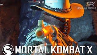 THE BEST CHARACTER IN MORTAL KOMBAT X Mortal Kombat X Erron Black Gameplay