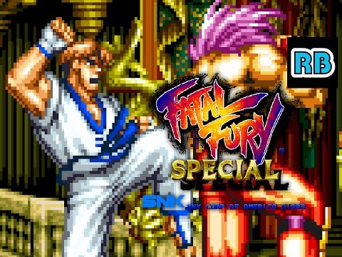 1993 [60fps] Fatal Fury Special Kim ALL