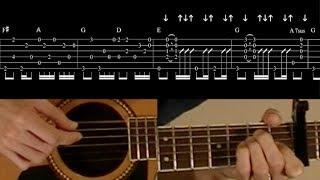 Angeles - Elliott Smith guitar lesson part 2: intro