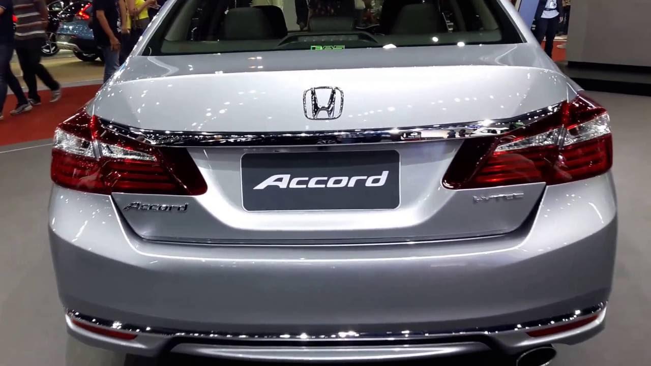Honda accord 2 4 el 2017 youtube for How much is a 2017 honda accord