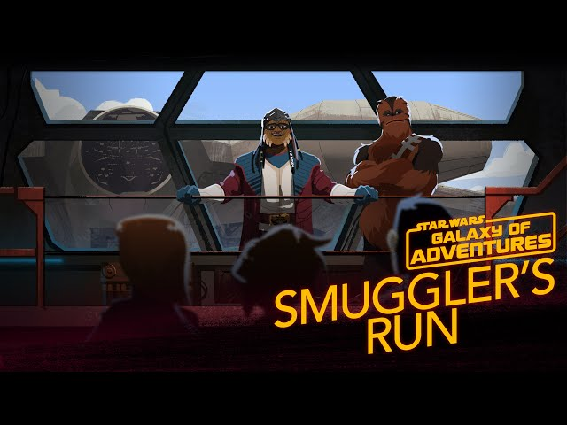 Millennium Falcon - Smugglers Run | Star Wars Galaxy of Adventures