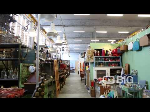 Mitchell Road Antique and Design Centre, a huge warehouse of pre-loved wares!