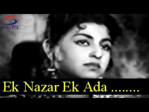 Ek Nazar Ek Ada - Mohammed Rafi - RAAT KE RAHI - Shammi Kapoor, Jabeen Jalil