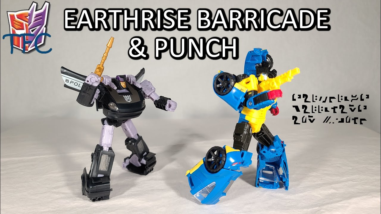 TF Collector Earthrise Barricade & Punch Review!