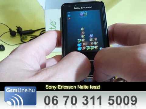 Sony Ericsson j105 Naite Teszt   www.GsmLine.hu